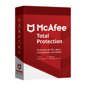 Licencia Antivirus McAfee Total Protection